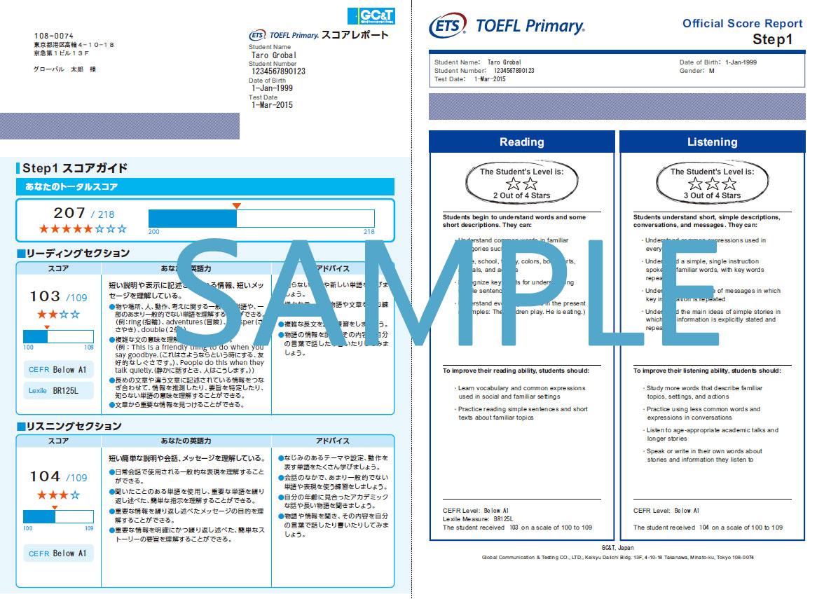 toefl primary sample test pdf