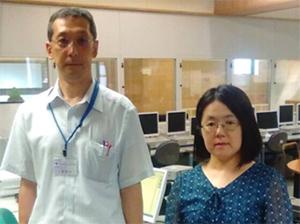 インタビューにお答えいただいた 丹野紋子先生と、小番雅和教頭先生