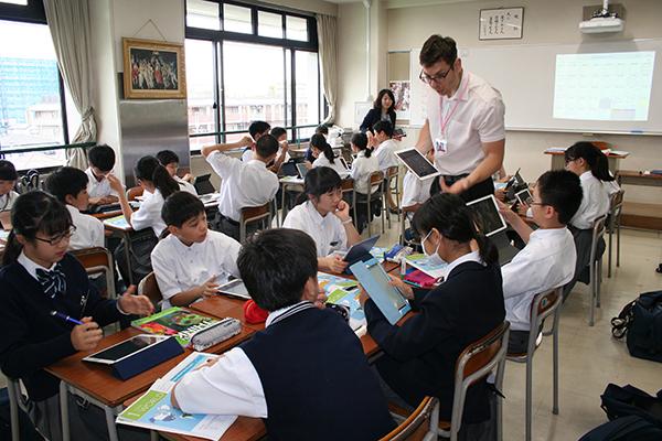 「近畿大学附属中学校 英語学習における校種間連携の架け橋として」
